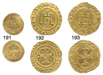 Quadrupla (2-Doppie), 1615, 13