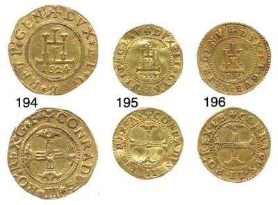 Doppia, 1570, 6.721g., come pr