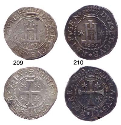 Scudo, 1607, 38.185g., come pr