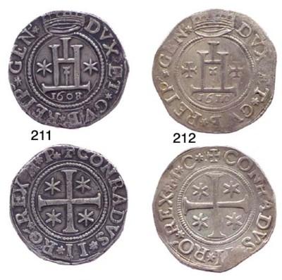 Scudo, 1610, 38.232g., come pr