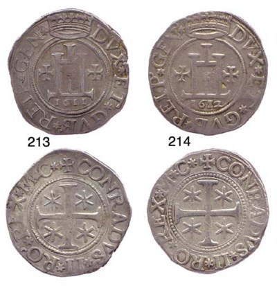 Scudo, 1611, 38.029g., come pr
