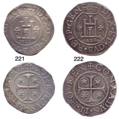 Scudo, 1627, 38.382g., come pr