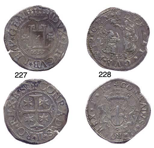 Scudo, 1637, 38.974g., come pr
