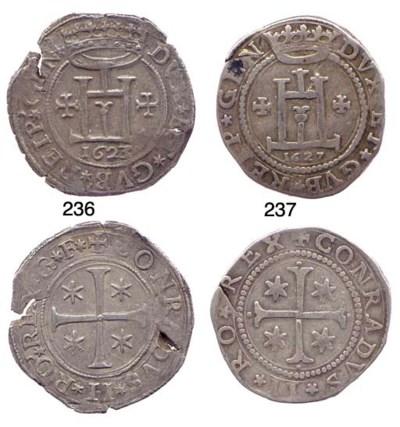 Mezzo Scudo, 1627, 18.536g., c