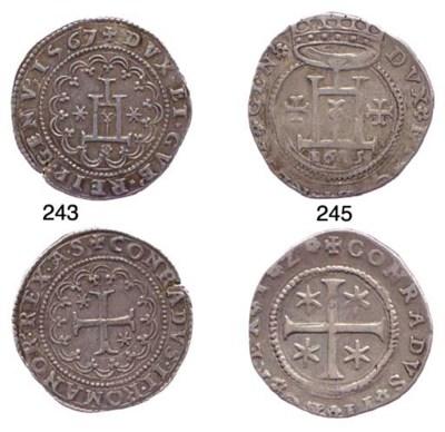 Quarto di Scudo, 1567, 9.233g.