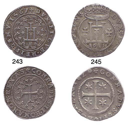 Quarto di Scudo, 1615, 8.487g.