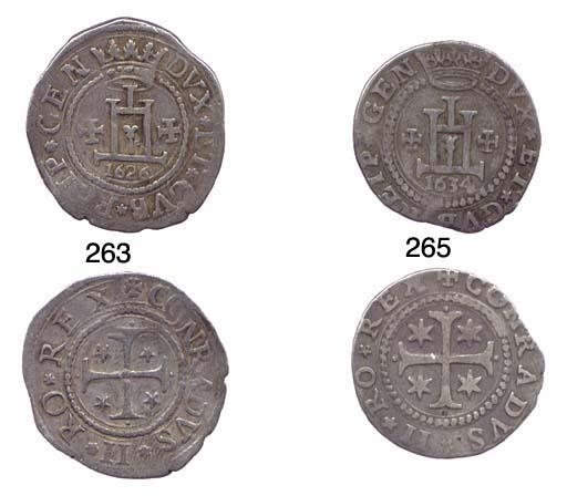 Ottavo di Scudo, 1634, 4.127g.