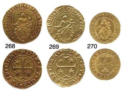 Cinque Doppie, 1643, 33.134g.,