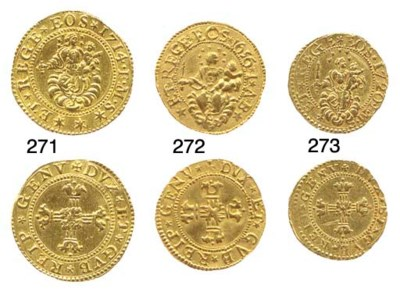 Mezza Doppia, 1656, 3.335g., c