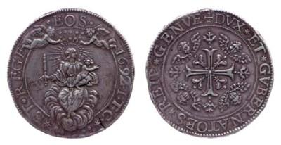 Quattro Scudi, 1692, 153.36g.,