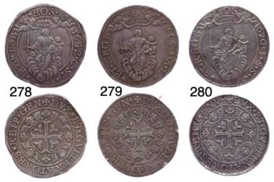 Due Scudi, 1670, 76.692g., com