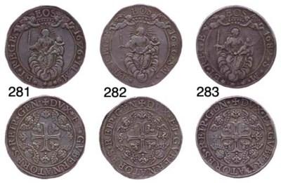 Due Scudi, 1676, 76.695g., com