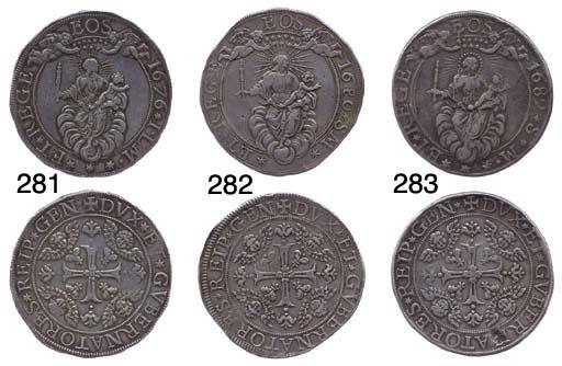 Due Scudi, 1682, 74.572g., com