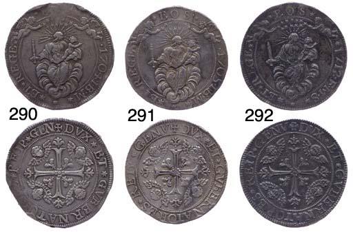 Due Scudi, 1704, 75.375g., com