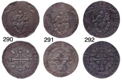 Due Scudi, 1712, 76.679g., com
