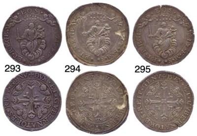 Due Scudi, 1717, 76.793g., com