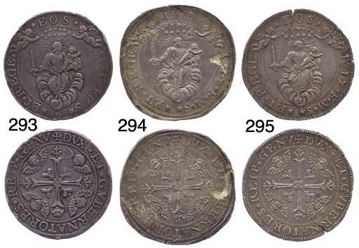 Due Scudi, 1717, 76.683g., com