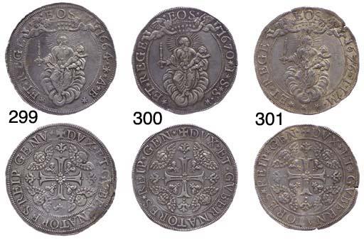 Scudo Largo, 1664/56, 38.076g.