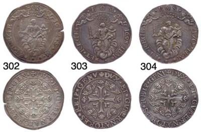 Scudo Largo, 1698, 38.185g., c