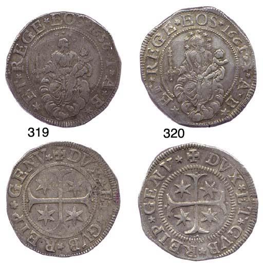 Scudo Stretto, 1656/5, 38.448g