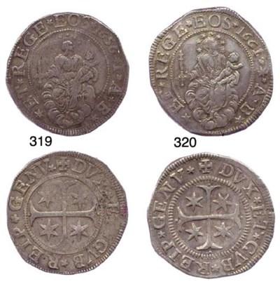 Scudo Stretto, 1661/56, 38.296
