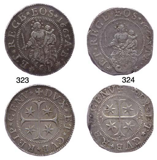 Scudo Stretto, 1665, 34.519g.,