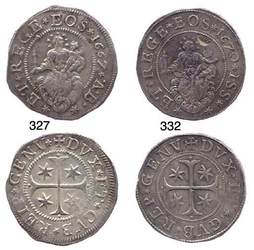 Scudo Stretto, 1667, 38.089g.,