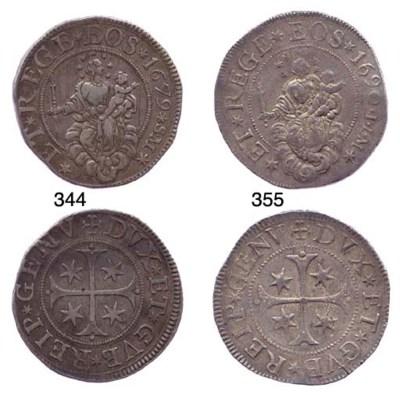 Scudo Stretto, 1679, 38.034g.,