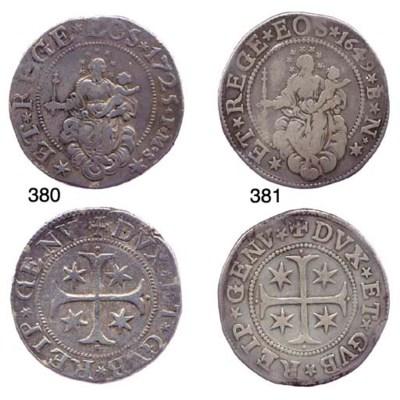 Scudo Stretto, 1725, 38.197g.,