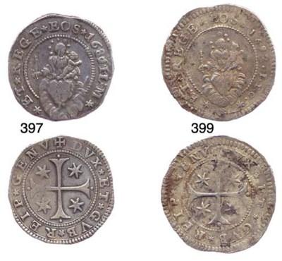 Mezzo Scudo Stretto, 1687/6, 1