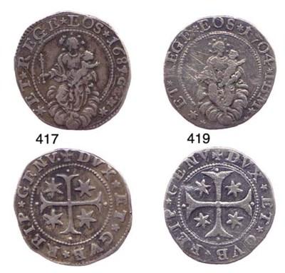 Quarto di Scudo Stretto, 1687/