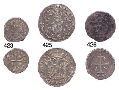 Lira da 20 Soldi, 1643, 5.205g