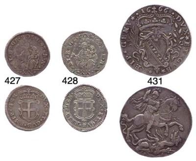Lira da 20 Soldi, 1647, 6.849g