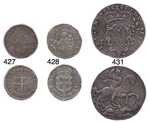 Lira da 20 Soldi, 1648, 7.091g