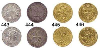 Zecchino, 1727, 3.279g., come