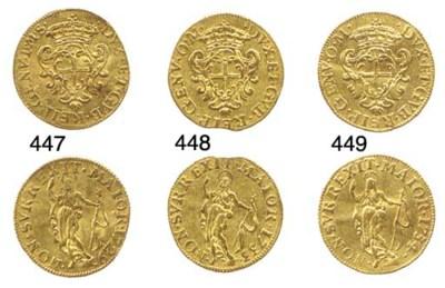 Zecchino, 1734, 3.472g., come