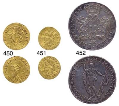 Scudo da Quattro Lire, 1675, 2