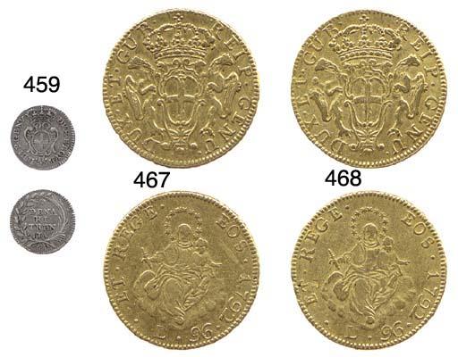 96-Lire, 1792, come prec. (CNI