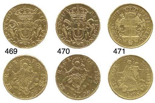 96-Lire, 1793, secondo tipo, s