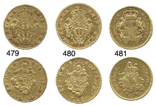 48-Lire, 1793, secondo tipo, A