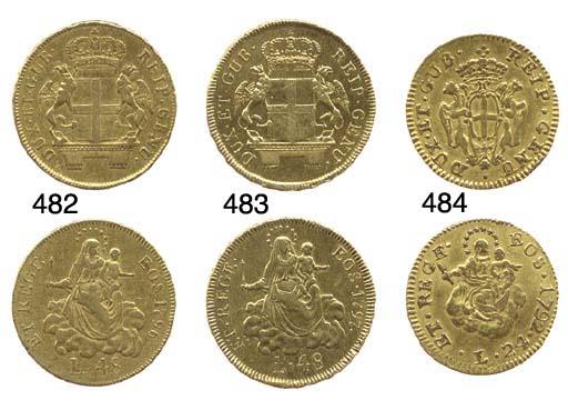 24-Lire, 1792, primo tipo (CNI