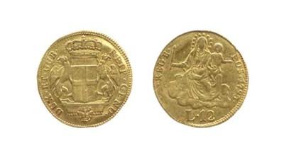 12-Lire, 1793, secondo tipo (C