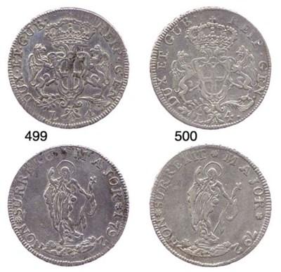 4-Lire, 1792, primo tipo (CNI.