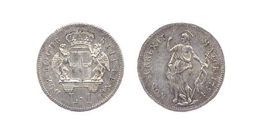 Lira, 1794, secondo tipo (CNI.