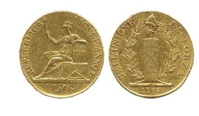 96-Lire, 1798, REPUBBLICA LIGU