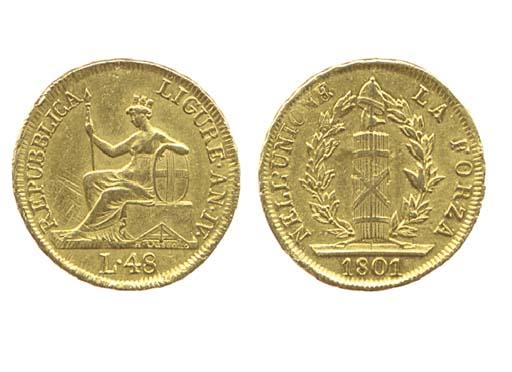 48-Lire, 1801, ANNO IV, come p