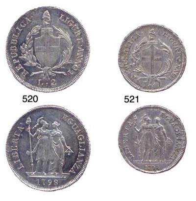 Lira, 1798, ANNO I, come prec.