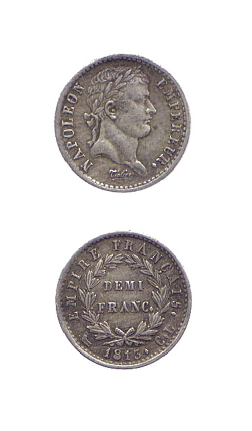 Demi-Franc, 1813, come prec. (