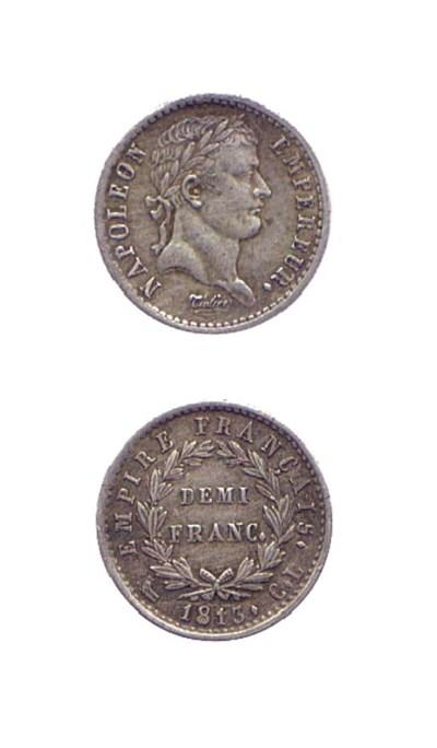 Demi-Franc, 1813, come prec. (
