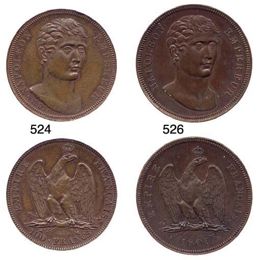 100-Francs, 1807, medaglia o p